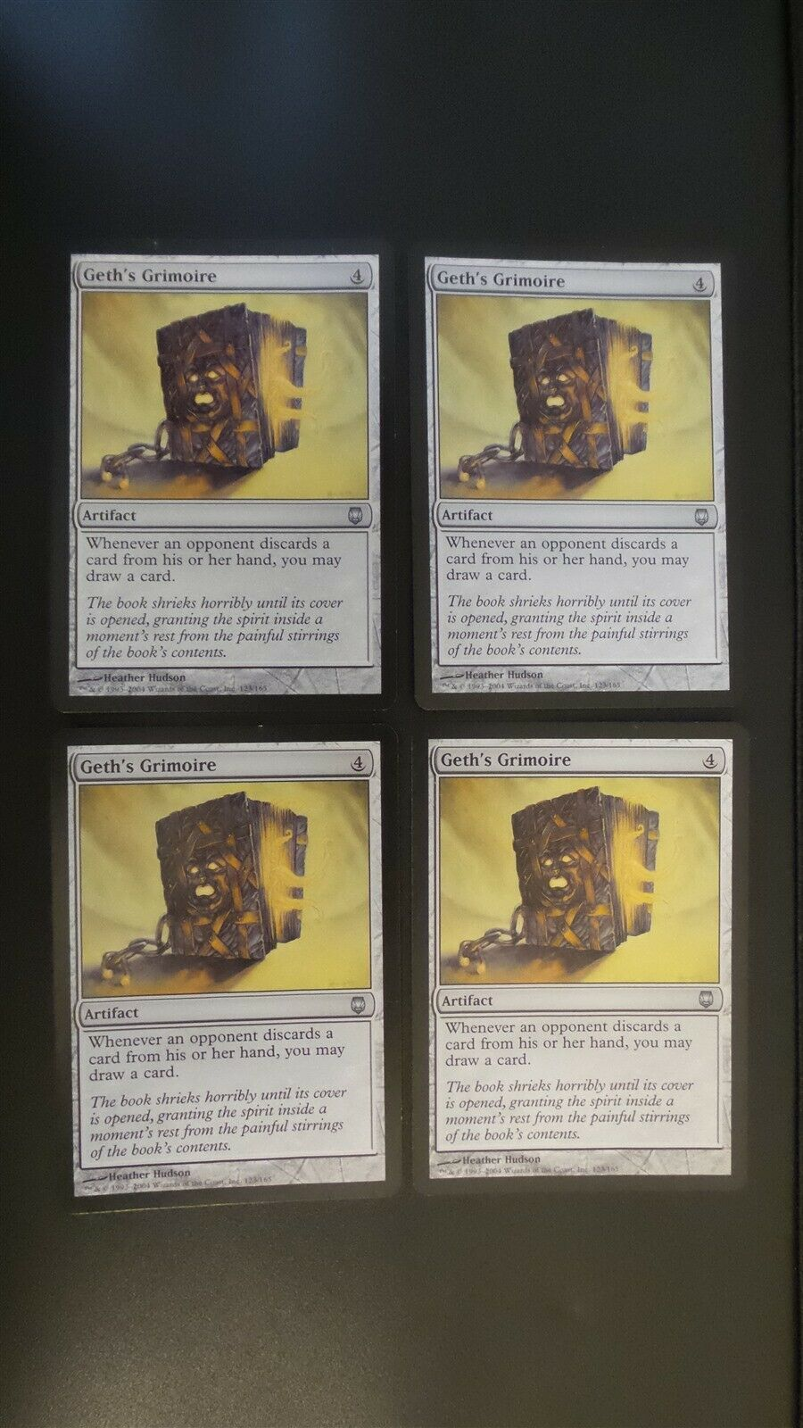 4x Leonin Battlemage MTG Darksteel NM Magic Regular