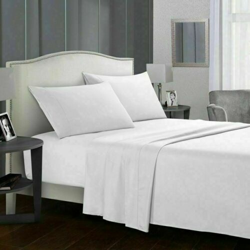 king size sheets 1800 Count 4 Piece Deep Pocket Bed Sheet Set King Queen Size L3