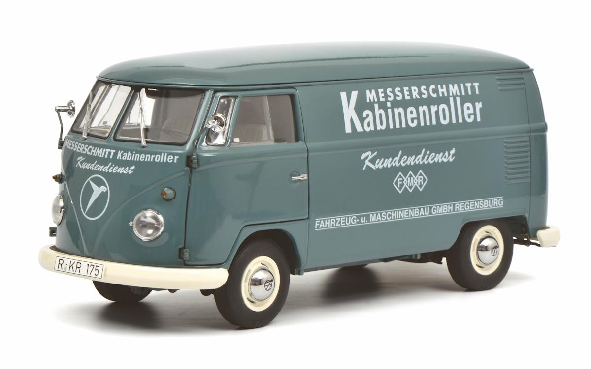 Schuco vw t1b messerschmitt 1,18