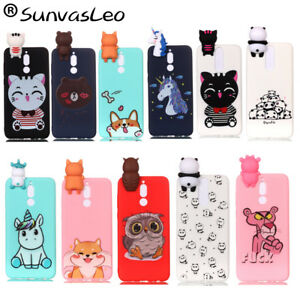separation shoes aa8ec aef2c Details about 3D Cartoon Silicone Case Back Cover For Huawei Mate 10 Lite /  Nova 2i / Honor 9i