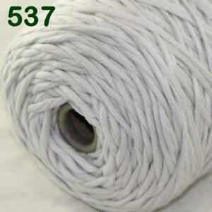 Sale-New-400gr-Cone-Yarn-Soft-Cotton-Super-Bulky-DIY-Hand-Knit-Wrap-Shawls-37