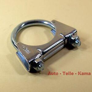 Auspuffschelle-fuer-Abgasanlage-PKW-Auspuff-Montageschelle-Clamp-M8-52-mm