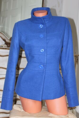 12 Lewis Fitted Ladies Blue Coat John Jacket Størrelse dpqgBxg0w