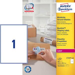 100-Avery-Zweckform-Envio-L7167-100-Blanco