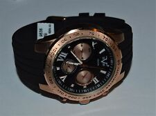 Versace V19.69 Italia 19V69 Men's Quartz Metal Silicone Casual Watch Black $250