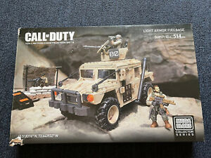 MEGA BLOKS Collector Series CALL OF DUTY (06817) Light Armor Firebase Rare