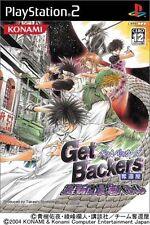 Used PS2 Get Backers Dakkanoku Ura Shinjuku Saikyou Battle Japan  Free Shipping