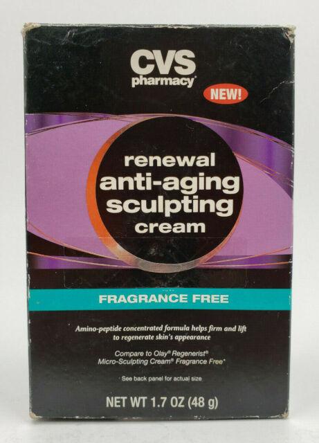 Cvs Pharmacy Renewal Anti Aging Sculpting Cream Fragrance Free 1 7