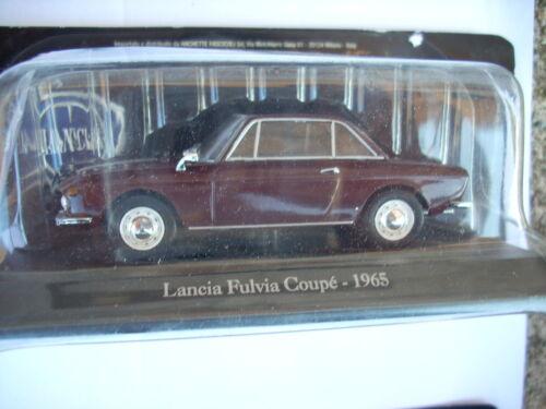 LANCIA  FULVIA COUPE-1965 SCALA 1//43