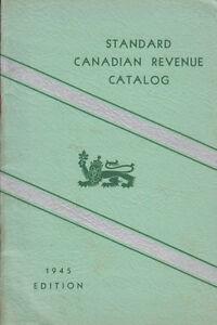 Standard-Canadian-Revenue-Catalog-by-Kenneth-W-Burke-used