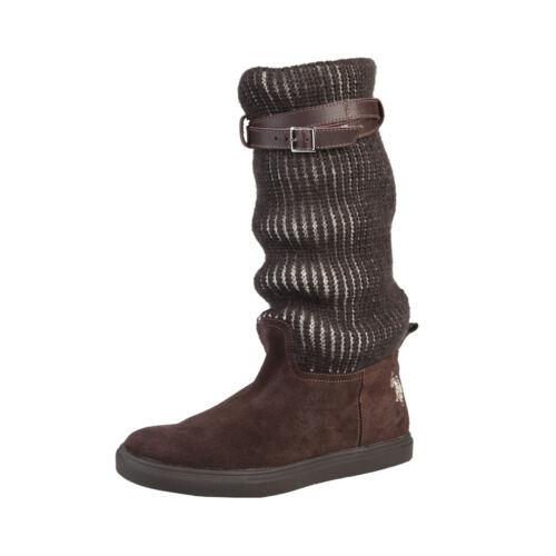 Polo Damenstiefel Andrad Stiefel U Braun Damenschuhe Boots s ZWngx4Ffa