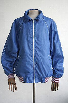 Onesto Veb Mabe Giacca Giacca Sportiva Giacca Vento 80er True Vintage Sport Vento Jacket Tg. 56-