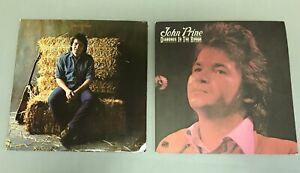 John-Prine-LP-Atlantic-SD-19156-Self-Titled-Atlantic-SD-7240-Record-Vinyl-Read