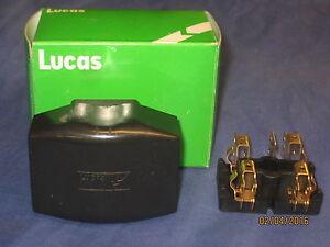 Lucas 2 Fusible Boîte à Fusibles Et Couvercle Mg Morris Austin Triumph Land Rover Jaguar-afficher Le Titre D'origine