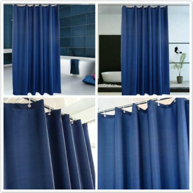 Shower Curtain Print Bathroom Sheer Extra Long Bathroom Use 180cm×180cm