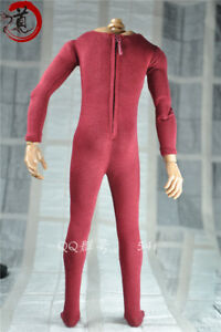 "1//6th Scale Blue Elastic bodysuit Model FOR 12/"" HT Male Figure Body Doll TOYS"