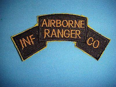 VIETNAM WAR SCROLL PATCH US INFANTRY AIRBORNE RANGER