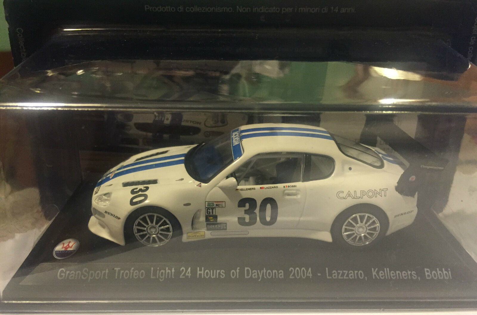 "DIE CAST "" GRANSPORT GRANSPORT GRANSPORT TROFEO LIGHT 24 HOURS OF DAYTONA 2004"" MASERATI 100 YEARS  oferta especial"