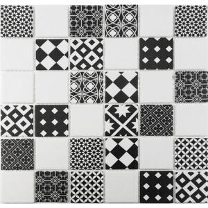 Moroccan Pattern White Gray Mosaic Tile Shower Spa Kitchen Backsplash Ebay
