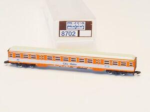 8702-Marklin-Z-scale-coach-Commuter-Car-City-Bahn-DB-Extra-car-for-8107-set