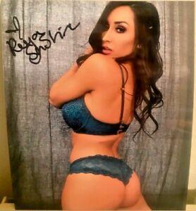 Allie Haze Autographed Signed 8x10 Photo REPRINT Model