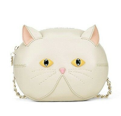 1 pc Lolita Girls Cute Cat Pattern Shoulder Bag  Handbag Messenger Bag 3 colors