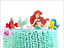 Ariel Little Mermaid XL EDIBLE wafer cake topper STAND UP Flounder