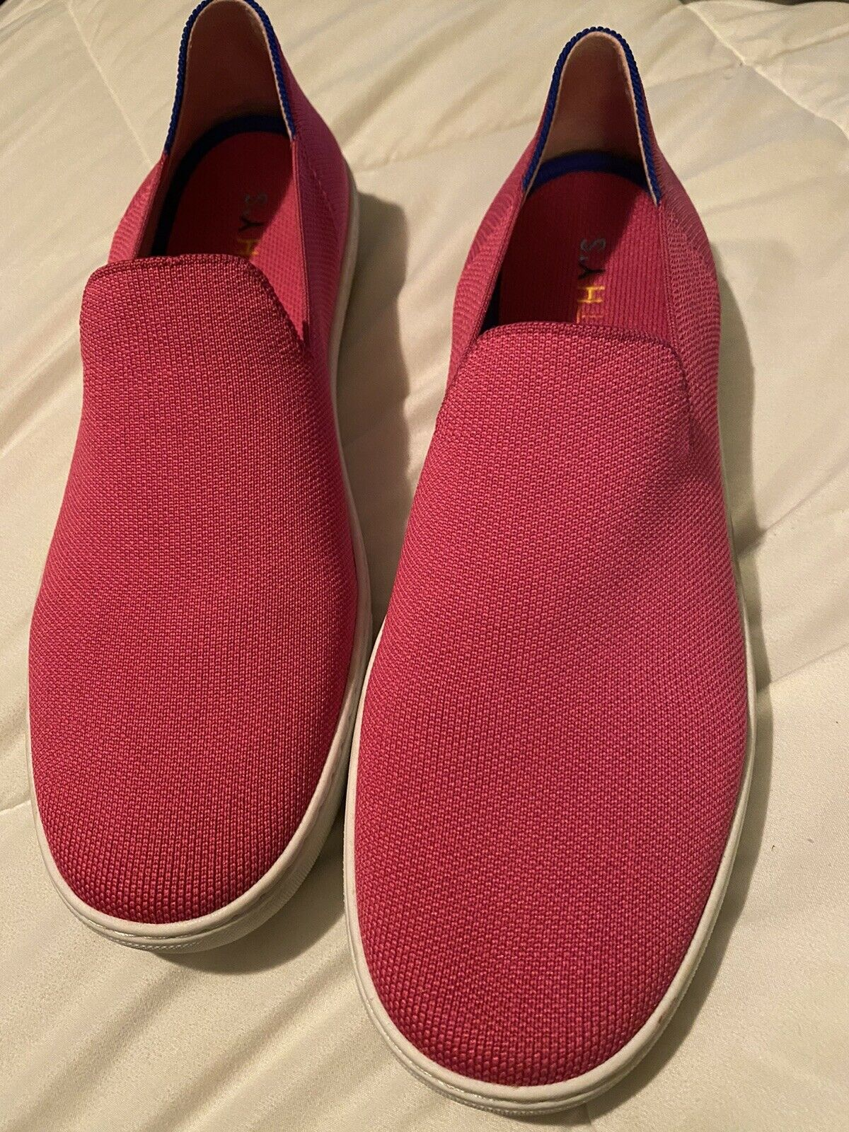 Rothys sneakers Bubblegum pink size 12.5 - image 1