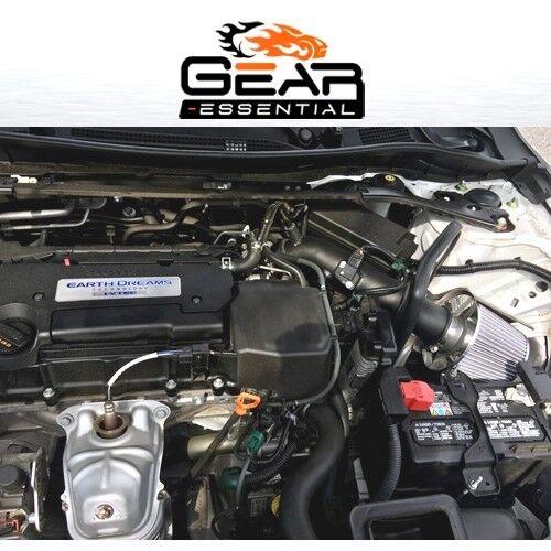 HEATSHIELD 13-17 FOR Honda Accord LX EX 2.4 2.4L L4 AF Dynamic COLD Air Intake