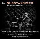 Shostakovich: The Two Violin Sonatas & Rare Chamber Works (CD, Nov-2015, First Hand Records)