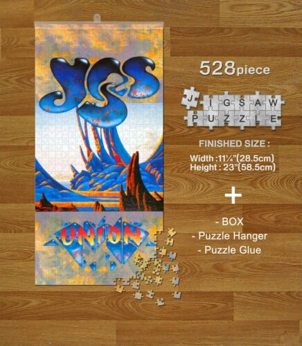 YES Music Group Band 528 piece Jigsaw Puzzles