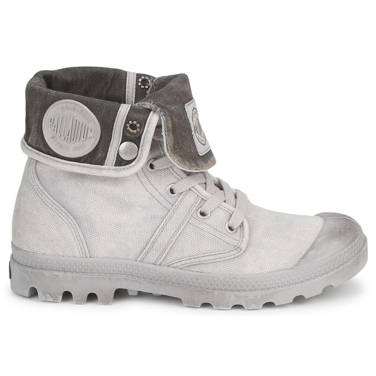 Scarpe casual da uomo  Palladium Pallabrouse Baggy Grigio Sneaker Uomo