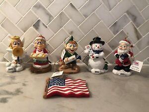 2003 MARATHON Oil CHRISTMAS Ornaments W/Tag - Complete Set ...