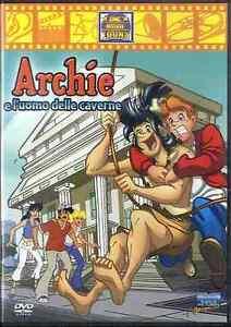 Archie e l uomo delle caverne dvd film cartoons usato ebay