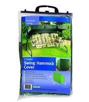 Gardman 3 Seater Garden Swing Seat Hammock Waterproof Cover