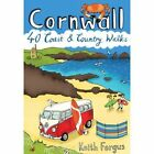 Cornwall 40 Coast and Country Walks 9781907025426 by Keith Fergus Paperback