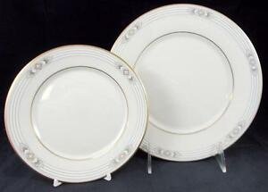 Lenox-FIRELIGHT-Salad-Plate-Bread-amp-Butter-Metropolitan-Line-GREAT-CONDITION