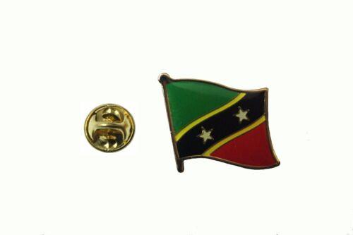KITTS /& NAVIS Country Flag Metal lapel PIN BADGE ..NEW St