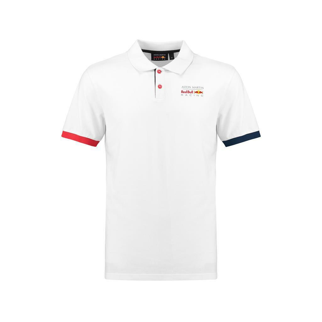 Red Bull Racing Formula 1 Men's White Authentic Polo F1
