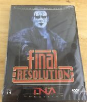 Tna Wrestling - Final Resolution 2006 (dvd, 2006) Wwe Wwf Wcw Ecw Roh Nxt