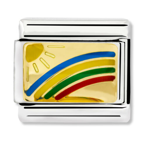 £25 RRP GENUINE Nomination Classic Rainbow Charm 030263//08