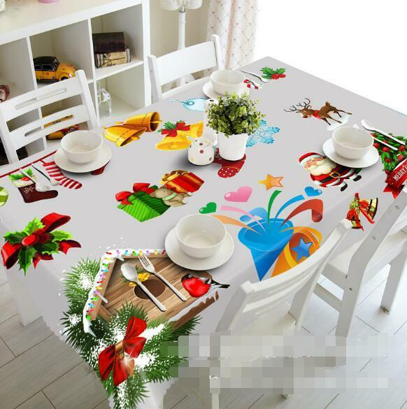 3D rouge gift 411Tablecloth Table Cover Cloth Birthday Party Event AJ WALLPAPER AU