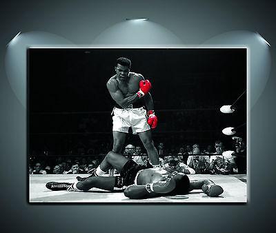 Muhammad Ali Red Gloves Black /& White Giant Wall Art Poster Print