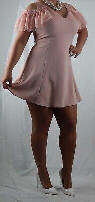Minikleid elegant Spitze trendy Sommer Tanz Party Cocktail Mode Kleid neu Größe