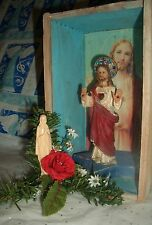 Jesus Christ SUPERSTAR Altar Sanctifyd Cigar Box Shrine Mother Mary Christmas Om