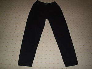 FALMER-BLACK-CARROT-FIT-JEANS-28-INCH-WAIST