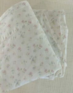 Rachel-Ashwell-Simply-Shabby-Chic-Cotton-Candy-Floral-Pink-TWIN-Flat-Fitted-Set