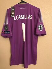 Real Madrid Casillas Fc Porto Xl Size Jersey Adidas Football Shirt