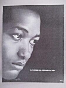 Sam Cooke Death Memorial PRINT AD - 2001 | eBay
