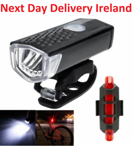 Front-and-Back-Bike-Lights-USB-Rechargeable-Waterproof-Headlamp-Set